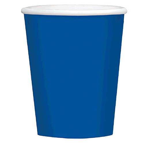Economy Bright Royal Blue Paper Cups | 9 oz. | Party Supply | 192 ct.