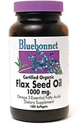 BlueBonnet Flaxseed Oil Softgels, 1000 mg, 250 Count