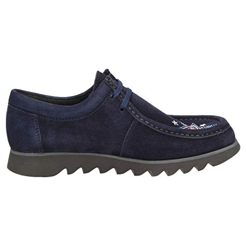 d182 008 Sneaker Sioux night Donna Grash Blau 40 44 Eu Pqwn1F6