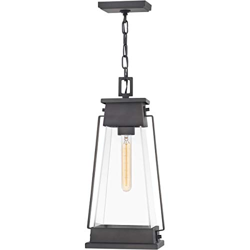 Outdoor Pendant 1 Light Fixtures with Aged Copper Bronze Finish Aluminum Material Medium Bulb 9