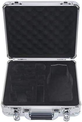 小型ハードカメラキャリングケースセーフティボックスプラスチック防水ボックス4kドローンアクセサリー収納袋、B