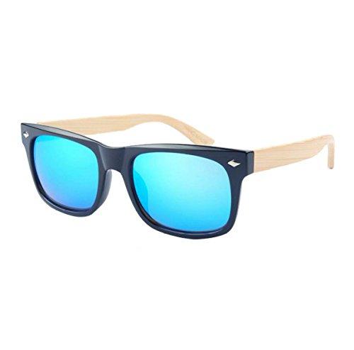 Haoyuxiang Sol Gafas La Protección Medio Coloridas Del De redsquid Bluesquid Ambiente CqCxtWBSF
