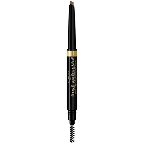 L'Oréal Paris Makeup Brow Stylist Shape & Fill Mechanical Eye Brow Makeup Pencil, Brunette, 0.008 oz.