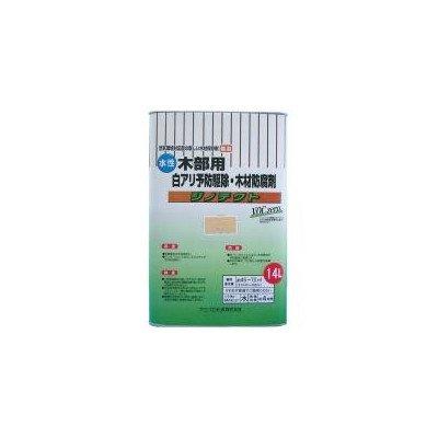 ジノテクト 水性防蟻防虫防腐剤(木部用) 14L 無色 B06WD8MSL8