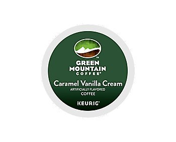 Green Mountain Coffee Caramel Vanilla Cream, K-Cup Partition Count for Keurig K-Cup Brewers (96 Count)