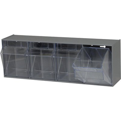 Quantum Storage Tip Out Storage Bin - 6 5/8in. x 23 5/8in. x 8 1/8in. Size, G...