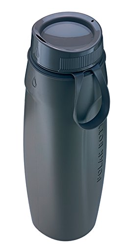 Polar Bottle Ergo Hot/Cold Insulated Water Bottle (22 oz) - Charcoal