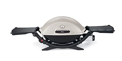 Weber 566002 Q 220 Portable 280-Square-Inch 12000-BTU Liquid-Propane Gas Grill