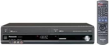 Cheap Panasonic DVD Recorder eith Incorporated Digital Tuner & VCR Combo, Model DMR-EZ37V.