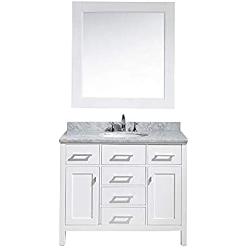 Ariel Taylor 42 Quot Inch Right Offset Single Sink Bathroom