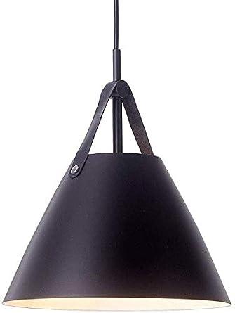 Zenghh Retro de cuero de una sola cabeza de la lámpara ...