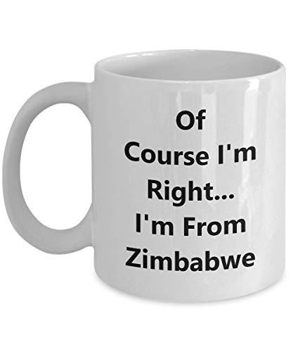 Funny Zimbabwe Coffee Mug - 11 oz Gift Mug