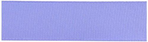 Kel-Toy Polyester Grosgrain Ribbon, 5/8-Inch by 25-Yard, Iris