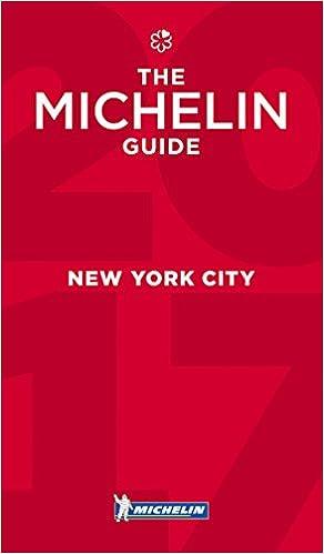 MICHELIN Guide New York City 2017 Restaurants