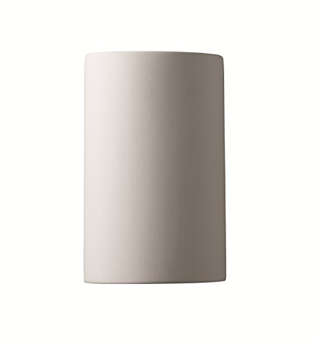Bisque Collection - Justice Design Group Ambiance Collection 1-Light Wall Sconce - Bisque Finish