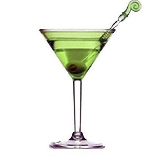 Set of 4 Colorful Acrylic Martini Glasses by Prodyne (Image #3)
