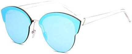 hqpaper Lunettes de soleil polarisées, Mr. Love, les mêmes lunettes, mode homme, lunettes femme-blanc_bleu