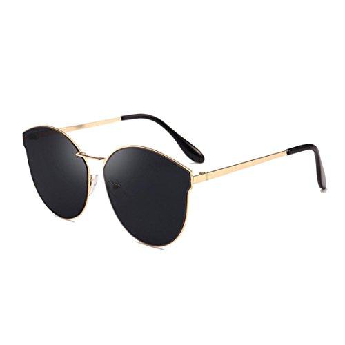 Nadition Women Men Retro Fashion Shades Sunglasses Integrated UV Glasses Polarized Glasses Outdoor Polarized Sunglasses (B) from Nadition