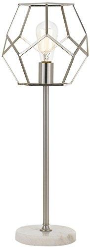 Af Lighting Modern Table Lamp - AF Lighting 9136-TL Brushed Nickel Bellini Table Lamp