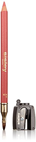 Sisley Perfect Lip Liner with Lip Brush and Sharpener, Rosa Passion, Phyto Levres, 0.05 Ounce - Des Levres Lip Liner Pencil