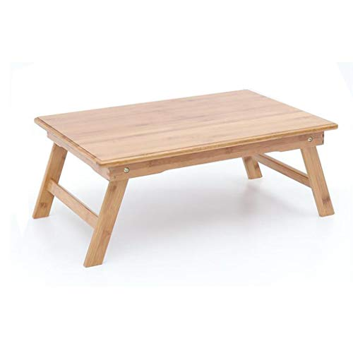 NewbieBoom Bed Tray Bandeja Plegable Grande 丨 Mesa de Soporte de Carpeta Grande para computadora portatil de bambu con pies Plegables (tamano, 60X40X24cm), 80x50x33.5cm