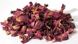 Dried Rose - AzureGreen 1 Lb Red Rose Buds & Petals Item HROSRWB