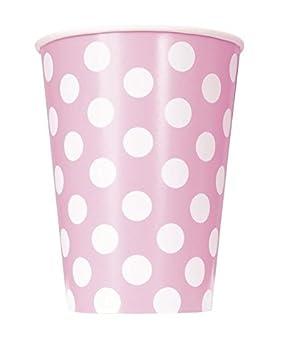 Takestop - Juego de 36 vasos de papel para fiestas, color ...