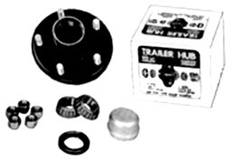 Tie Down Engineering 81090 5 Stud Marine UHI Hub Kit with Bearing by Tie Down Engineering (Image #1)
