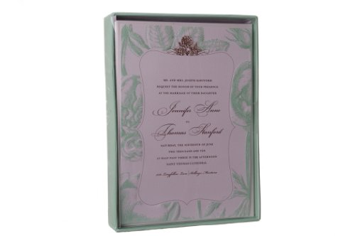 Green And Brown Wedding Invitations - 25 American Crafts Mint Green Floral Printable Wedding Invitations 5