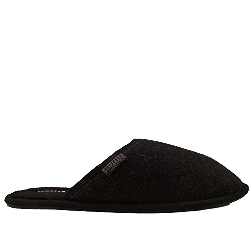 Black grey Superdry Mule Superdry Classic Mens Black Slippers Classic q8BwYxv4