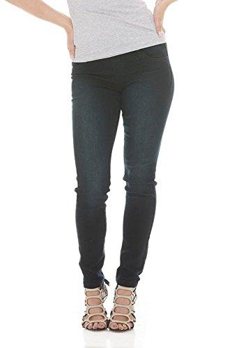 Suko Jeans Womens Skinny Pants Pull On Jean Stretch Denim