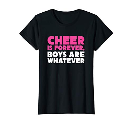 Cheer is Forever Funny Cheerleader T-shirt -