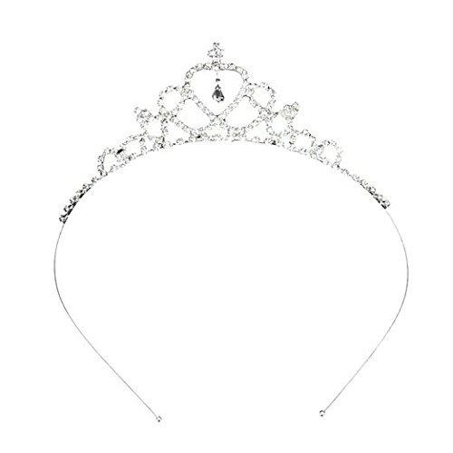 Cdet Princesa corona headband nupcial tiara partido headwearear cintas para el Pelo