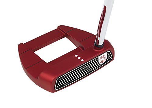 (Odyssey O-Works Red Jailbird Mini Putter, 34 in (Certified Refurbished))