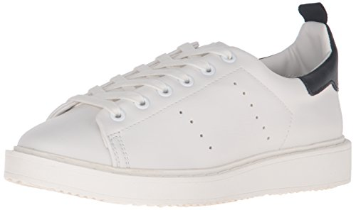 Steven By Steve Madden Womens Macie Fashion Sneaker White