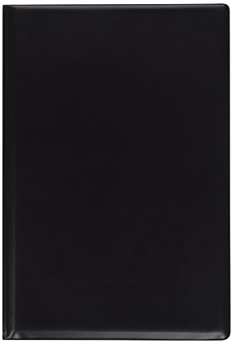 SKILCRAFT 7510-01-454-7388 Vinyl Steno Pad Holder with Foam Padded Cover, 6 x 9 Inch Height, Black
