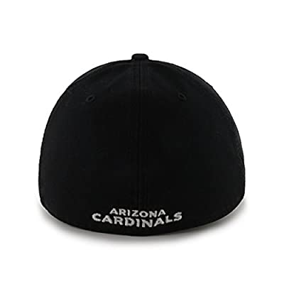 NFL Arizona Cardinals Franchise Fitted Hat, Small, Black