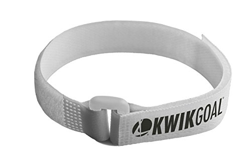 Kwik Goal Net Attachment Straps (Pack of 30), White