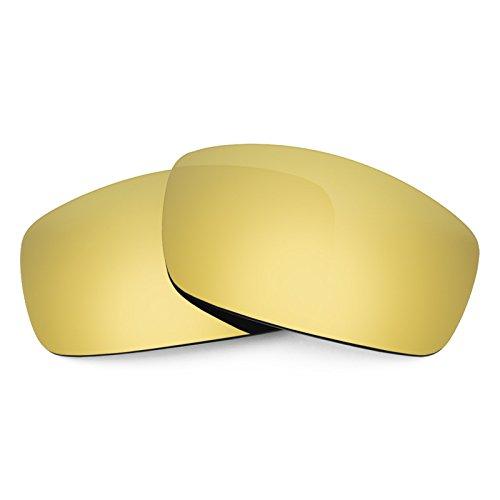 (Revant Polarized Replacement Lenses for Spy Optic Cooper XL Elite Flare Gold MirrorShield)