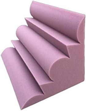 映画館の音響パネル、メトープコーナーホテルバー屋内録音スタジオ吸音綿30 * 30 * 50 CM (Color : Purple)