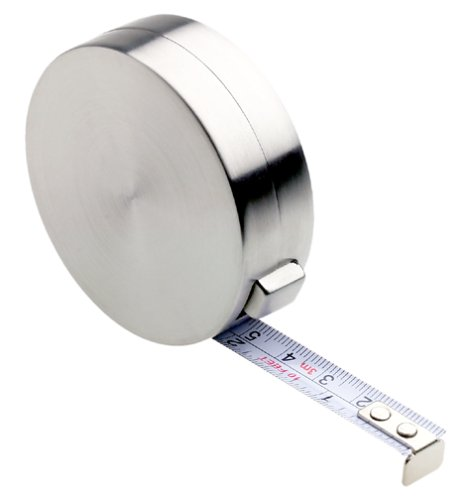 Metal Retractable Tape Measure (Blomus 68708 Stainless-Steel Measuring Tape)