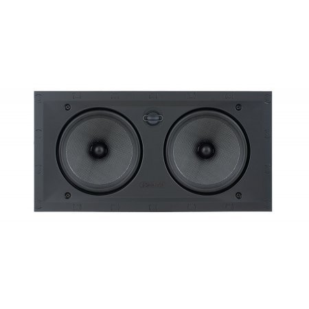 Sonance Black Visual Performance Series In-Wall Square Speakers - VP66LCR
