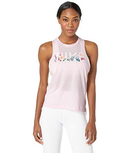 (Nike Women's Miler Running Tank Arctic Pink XS )
