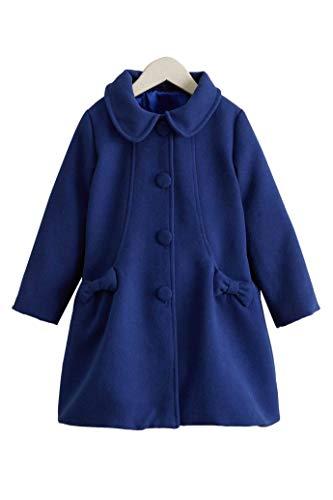 Chasing Fireflies Girls Sweet Dress Coat Navy ()