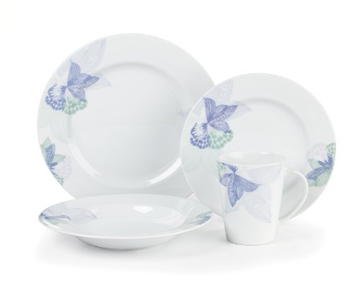 Cuisinart CDP01-S4OP Pannes Collection 16-Piece Porcelain Di