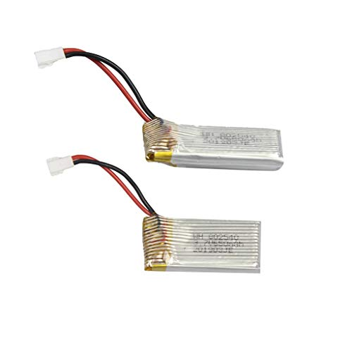 UMFun 2pc 3.7V 650mAh Battery for KY101 HJ14 LF608 S28 Quadcopter RC Quadcopter]()