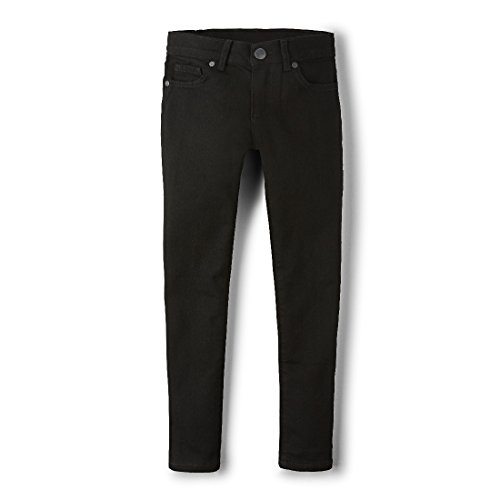 The Children's Place Big Girls' Super Skinny Jean, Black, 8 (Jeans Girls Black)