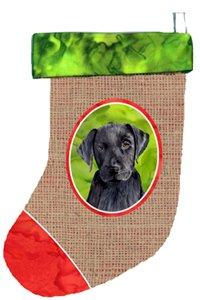 Multicolor 11 x 18 Carolines Treasures SC1015-CS Labrador Christmas Stocking