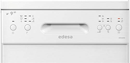 Edesa EDW-4591 WH lavavajilla Independiente 9 cubiertos A+ ...