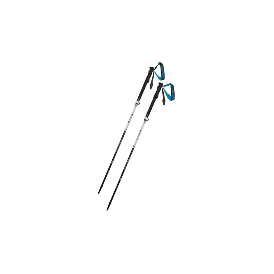 Paria Outdoor Products Tri Fold Alloy UL Trekking Poles/Sticks Folding, Collapsible, Adjustable, and Ultralight Perfect for Hiking, Walking, Backpacking and Snowshoeing